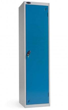 Probe Janitors Supplies Locker 1780x460x460 blue door closed