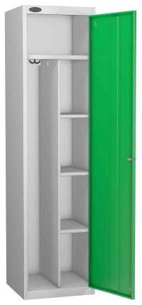Probe Uniform Key Locking Locker 1780x460x460mm green door open