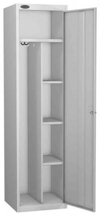 Probe Uniform Key Locking Locker 1780x460x460mm grey door open