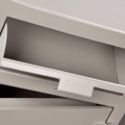 Burton Teller V76 Deposit Cash Safe drawer deposit open