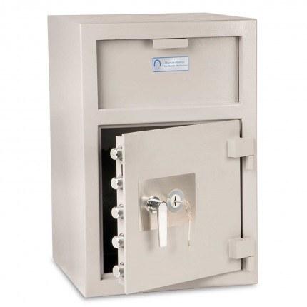 Burton Teller V76 Deposit Cash Safe main door open