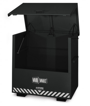 Van Vault 4-Store Large Security Site Tool Storage Chest