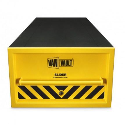 Van Vault Slider Vehicle Security Box with slide out drawer