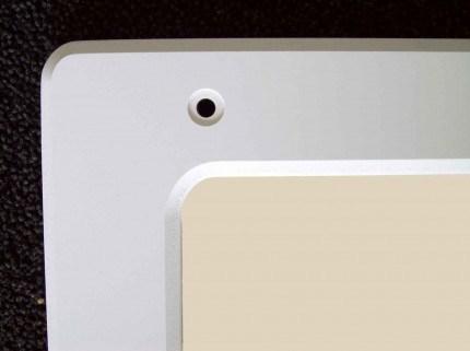Securikey M16243R Flat Polycarbonate Anti-Vandal Vanity Mirror 40x30cm - Fixing holes