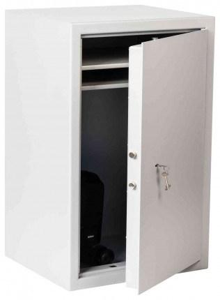 The Extra Large De Raat Vector S2 8K £4000 Key Lock Security Safe - door ajar