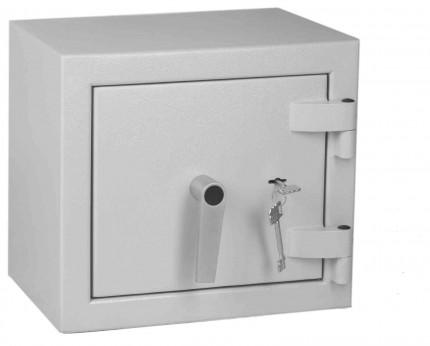 Keysecure Victor Small Eurograde 1 Key Locking Safe Size 1 - Door closed