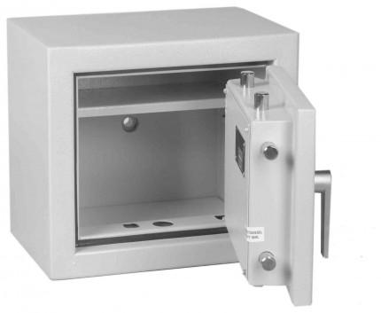 Keysecure Victor Small Eurograde 1 Key Locking Safe Size 1 - Door open