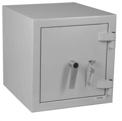 Keysecure Victor Eurograde 1 Key Lock Security Safe Size 2 - closed door
