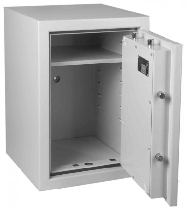 Keysecure Victor Eurograde 1 Key Lock Security Safe Size 3 - internal view