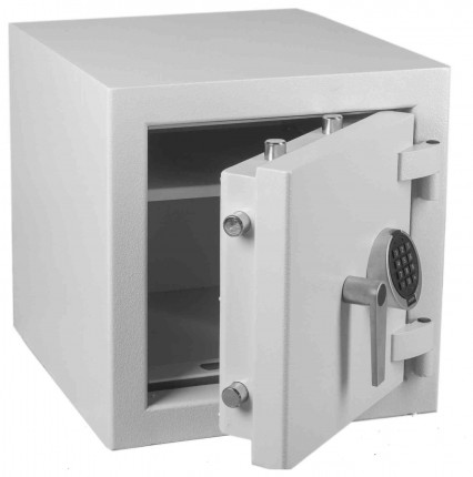 Keysecure Victor Eurograde 2 Electronic Security Safe Size 2 - door ajar