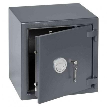 Keysecure Victor Eurograde 1 Key Lock Security Safe Size 3 - ajar