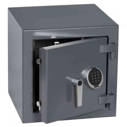 Keysecure Victor Small Eurograde 3 Electronic Safe Size 1 - door ajar