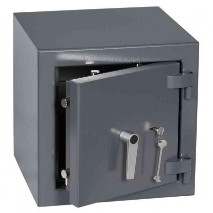 Keysecure Victor Small Eurograde 3 Key Lock Safe Size 1 - Door ajar