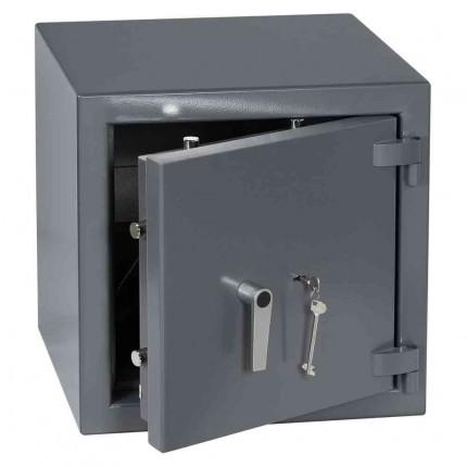 Keysecure Victor Eurograde 3 Key Locking Security Safe Size 2 - door ajar