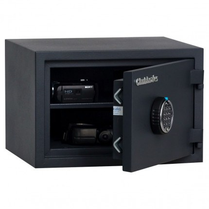 Chubbsafes Homesafe S2 20E Electronic Fire Security Safe - door ajar