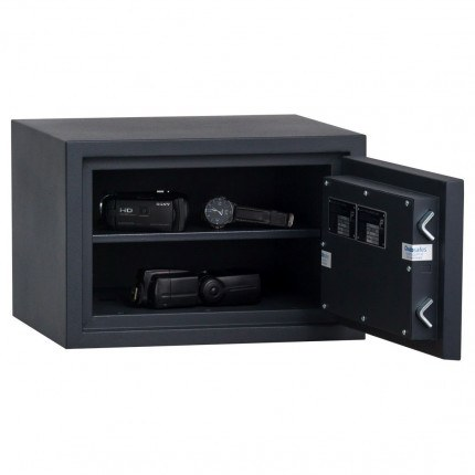 Chubbsafes Homesafe S2 20K Key Locking Fire Security Safe  - door wide open