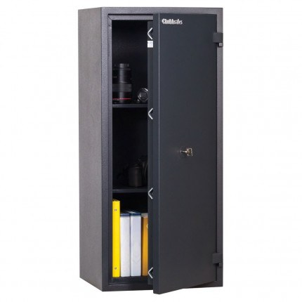 Chubbsafes Homesafe S2 90K Key Locking Fire Security Safe for Burglary and Fire protection - door ajar