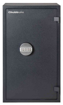 Chubbsafes Homesafe S2 70E Electronic Fire Security Safe - door closed