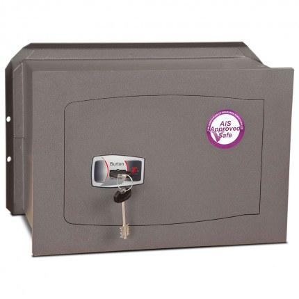 Burton Torino Premium quality Wall Safe DK Size 4 Key Lock - door closed