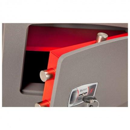 Wall Security Safe Key Locking - Burton Torino DK4K - door bolts detail