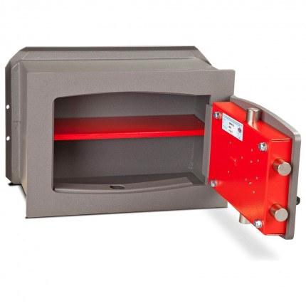 Burton Torino Premium quality Wall Safe DK Size 4 Key Lock - door open
