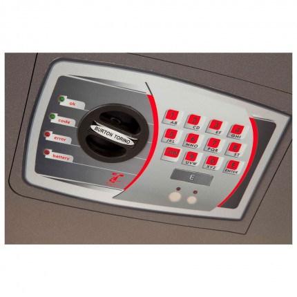 Burton Torino DK3E £4000 Rated Electronic Wall Safe - lock detail