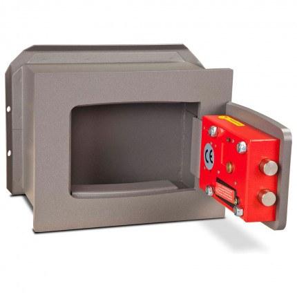 Wall Security Safe Key Locking - Burton Torino DK1K - door open