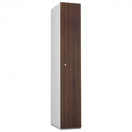 Probe 1 Door Walnut TimberBox MDF Woodgrain Door Steel Locker