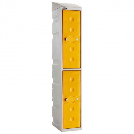 Probe UltraBox 2 Door Plastic Locker - Yellow
