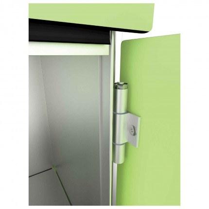 Probe Zenbox showing self closing hinge