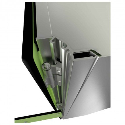 Probe ZenBox showing concealed hinge