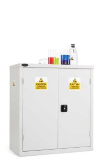 Probe Acid Corrosive Low Double Door Steel Cabinet