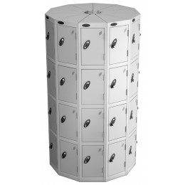 Probe Space Saving 44 Compartment Locker Pod