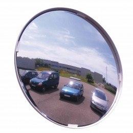 Blindspot Convex Wall or Post Fixed Mirror 300mm - Vialux 513 outdoors