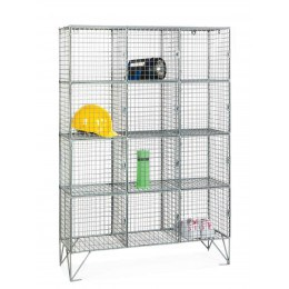 Robinson 12 Door Metal Wire Mesh 8mm Storage Locker