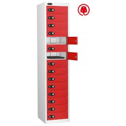 Probe Lapbox 15CHD Laptop Charging Locker 15 Door - red