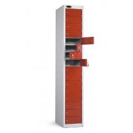 Probe 16 Door Personal Items Key Locking Locker