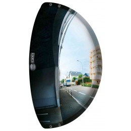 Vialux Vumax 5000 Wide Angle Driveway Convex Mirror 44cm