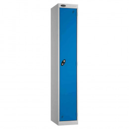 Probe Expressbox 1 Door Locker Key Locking Blue