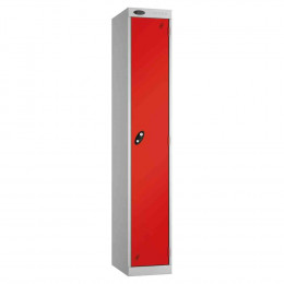 Probe Expressbox 1 Door Locker Padlock Hasp Red