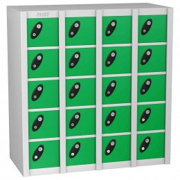 Probe Minibox 20 unit with green colour doors