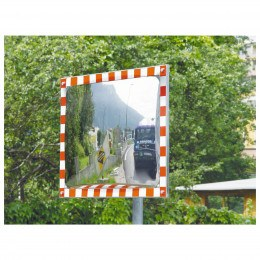 Convex Stainless Traffic Mirror 60x80cm
