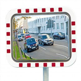 Frost Free - No Electrics - Convex Traffic Mirror - Durabel Lite