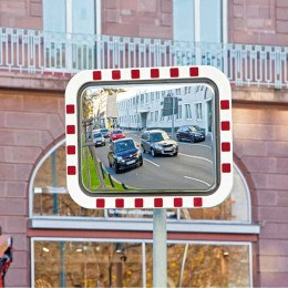 Durabel Lite Condensation Free Mirror 60x80cm Post Mounted Traffic Mirror