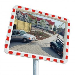View-Minder 2 Acrylic Traffic Convex Mirror
