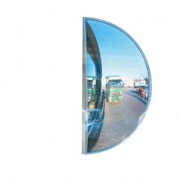 Extra Wide Angle Convex Mirror - Mirror-Master 85cm - can be fitted vertically