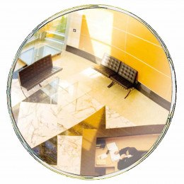 Security Surveillance Convex Wall Mirror 60cm - Vialux