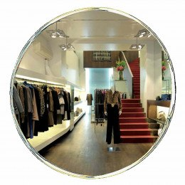 Security Surveillance Convex Wall Mirror 80cm - Vialux