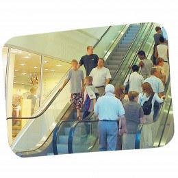 Large Surveillance Security Convex Wall Mirror 80x60cm - Vialux