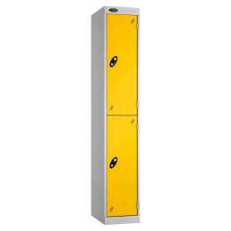 Probe Expressbox 2 Door Locker Padlock Hasp Yellow